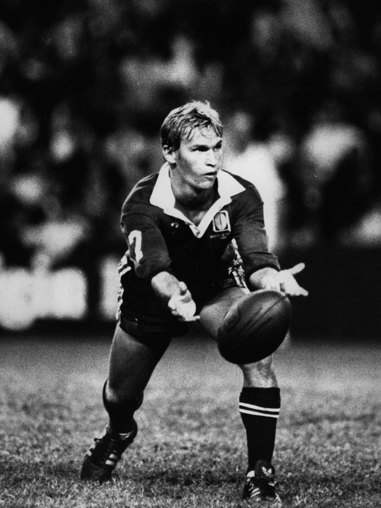 Inspirational Ipswich and Queensland footballer Allan Langer. Picture: Wayne Jones