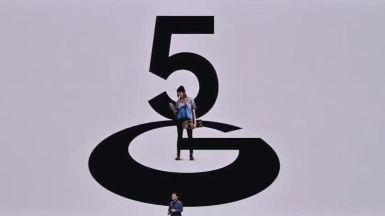 5G received special mention at Samsung's Unpacked event in San Francisco.