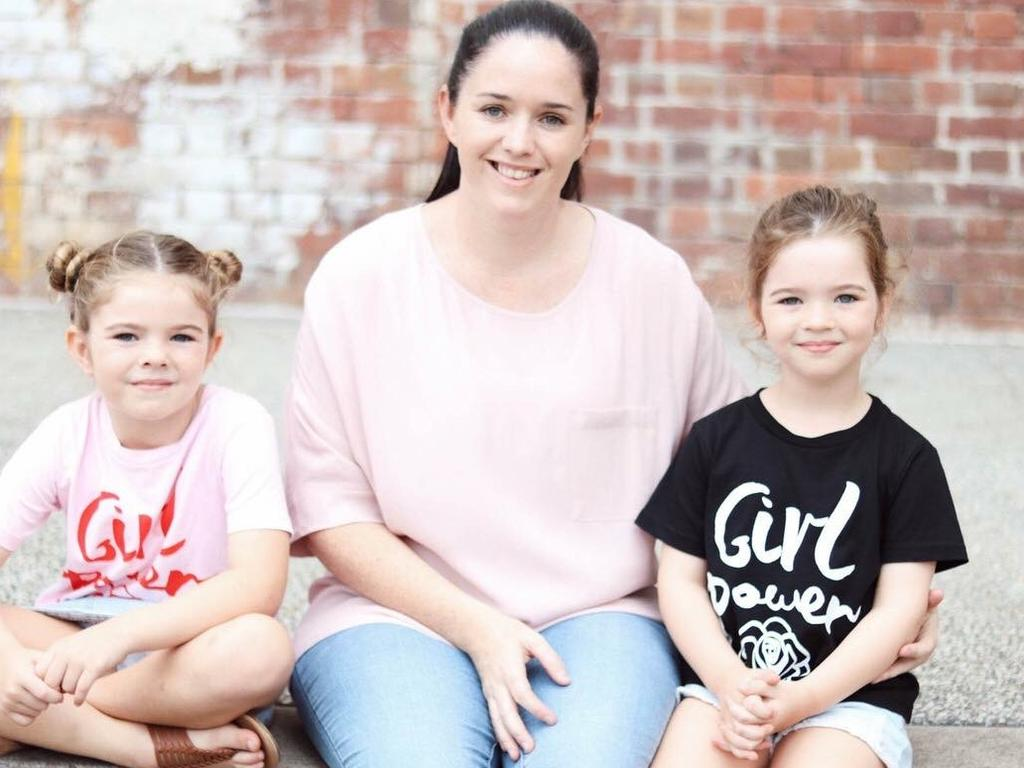 Cheree Lawrence makes around 20 lunches a week for her four daughters. Picture: Supplied