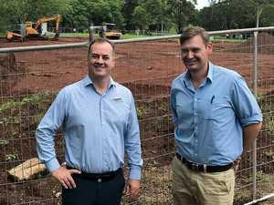 Work progresses on golf course retirement village