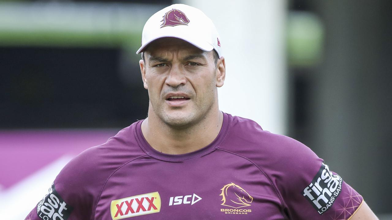 Brisbane Broncos skipper Alex Glenn was set to sign with Penrith. Picture: AAP/Glenn Hunt