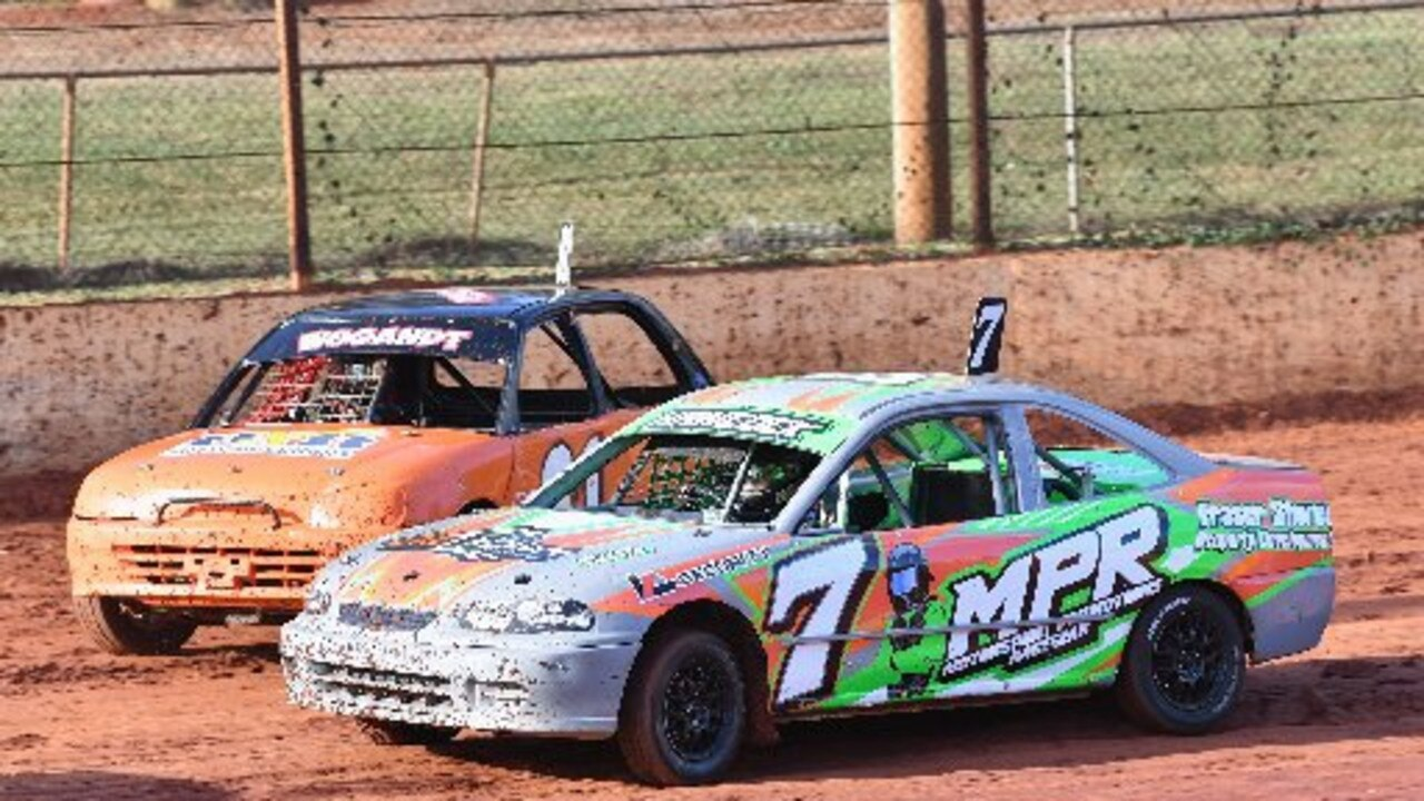 NO RACING: Wet weather has put the brakes on this Saturday's Maryborough Speedway Sedans Australia Street Stock Queensland Title and be postponed to May 2.