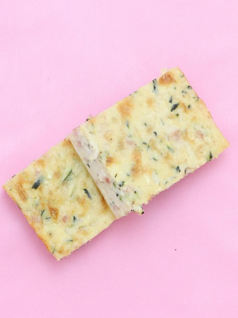 One of her children's favourite lunches is zucchini slice. Picture: Supplied