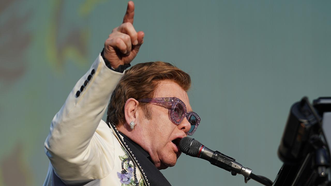 Elton John's Yarra Valley concert was called off due to a freak storm. Picture: Photo by Kerry Marshall/Getty Images