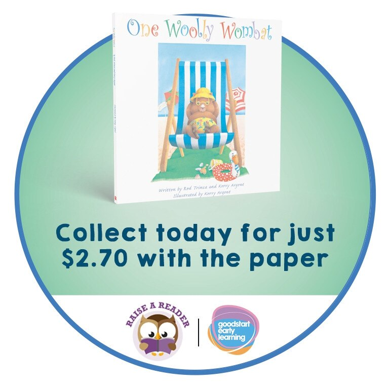 Don't forget to pick up your awesome Australian Story Book with your voucher from The Gympie Times each day this week.