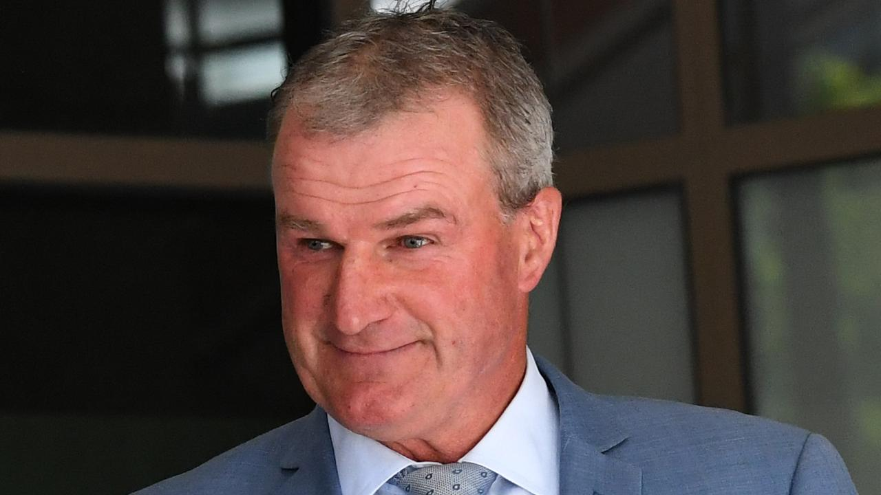 Disgraced trainer Darren Weir has appeared in a Melbourne court. Picture: AAP