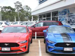$10 Mustang rides for bush fire relief