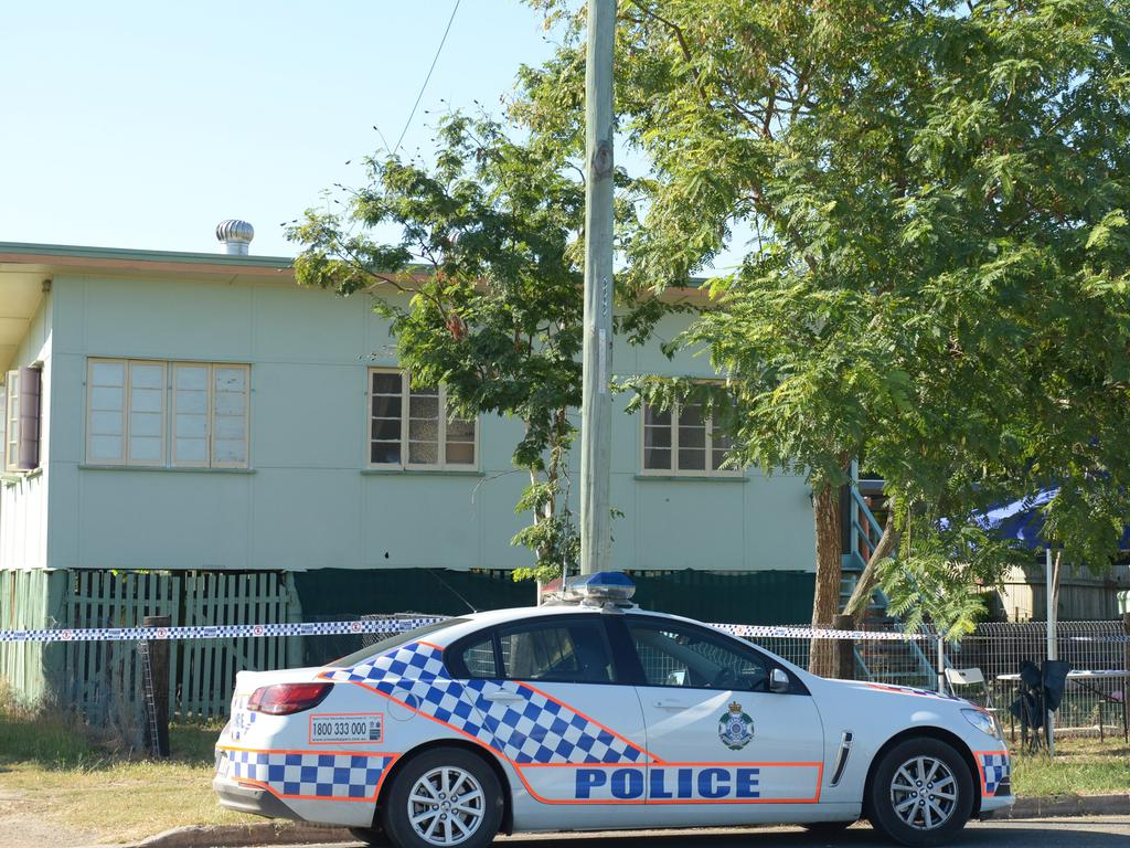 Police searched a house on Dean Street as part of their investigation of the murder of Syeid Alam. Photo: The Morning Bulletin