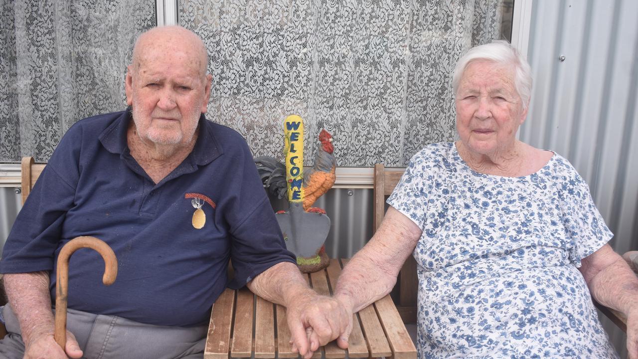 EVERLASTING LOVE: Keith and Gwen McEwan celebrated their 75th wedding anniversary on February 10.