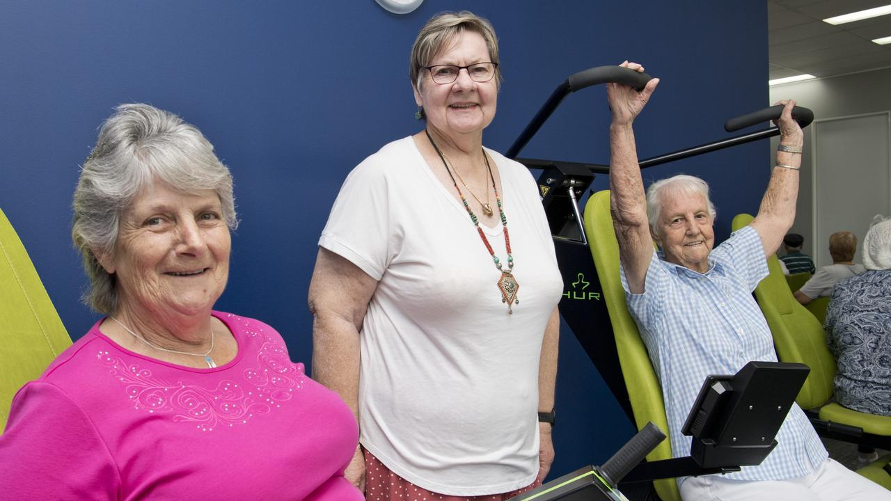 (From left) Val Burgess, Estelle Bill and Gabby Bianchi. Open day at integratedliving wellness centre.