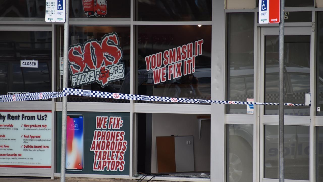 SOS Phone Repairs, Grafton was broken into on October 2.