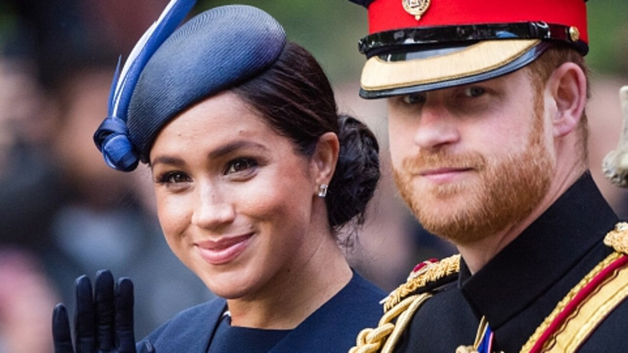 Prince Harry and Meghan Markle have axed their entire team of staff in the UK. Picture: Samir Hussein/Samir Hussein/WireImage