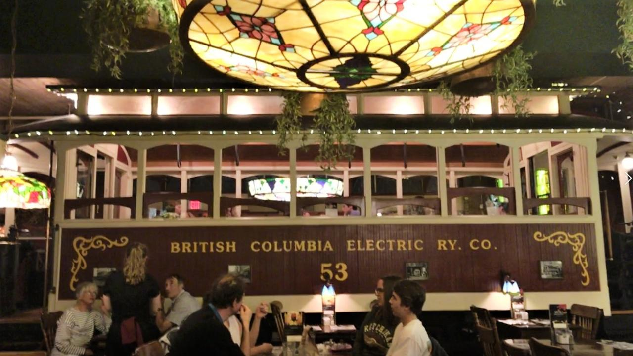 The Old Spaghetti Factory restaurant. Picture: Shirley Sinclair