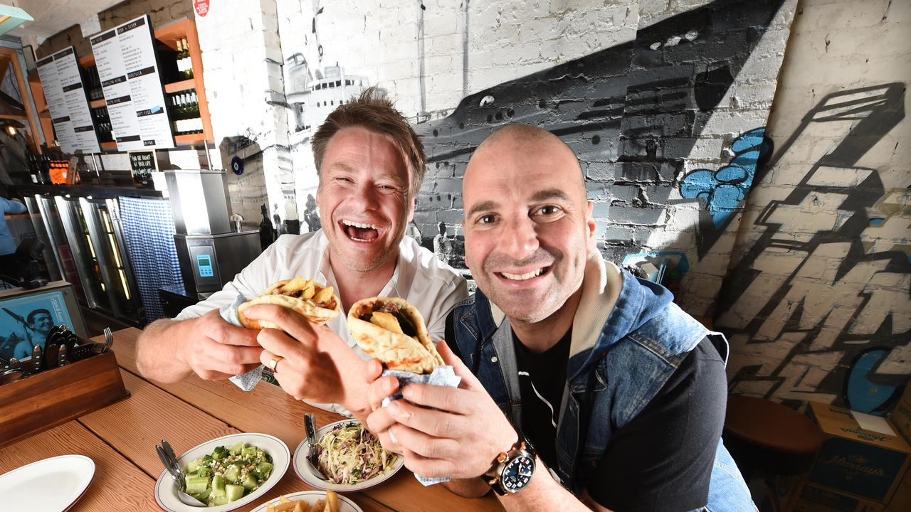 Radek Sali believed George Calombaris' food empire was worth saving and he ploughed his own money in to keep it going.