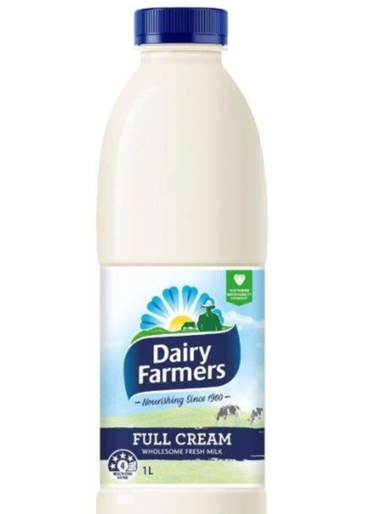 Dairy Farmers recently recalled their 1L and 3L bottles of full cream milk.