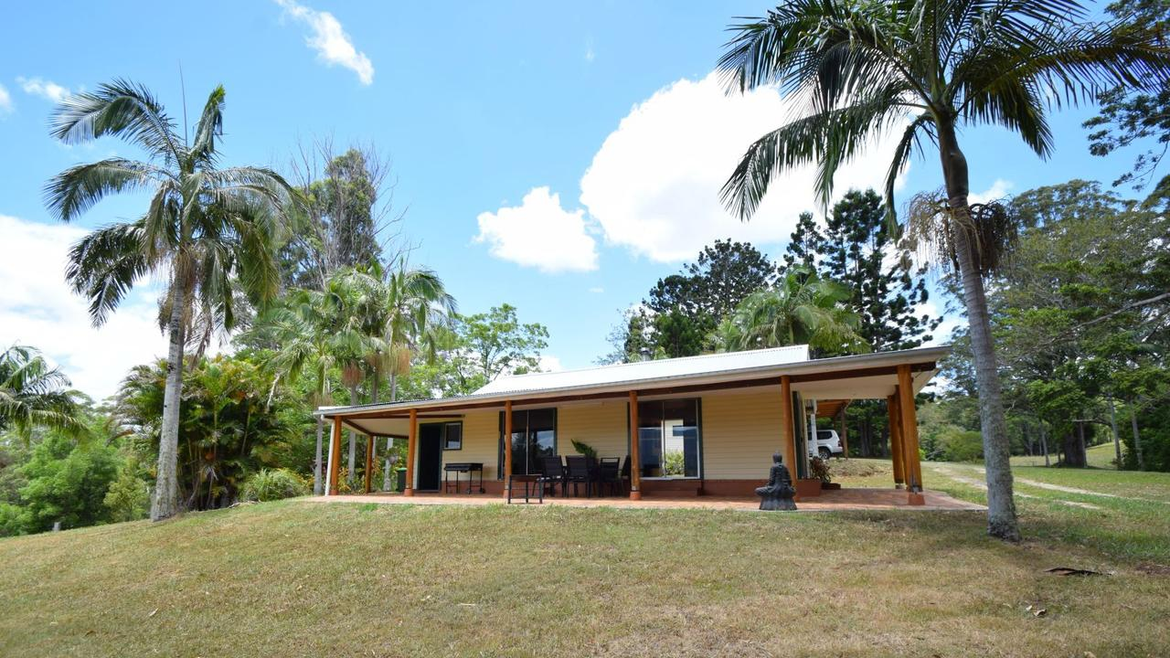 FOR SALE: This 256 acre property at 67 Barnes Rd, near Barkers Vale is listed by Nimbin Lifestyle Real Estate for $1,500,000. Photo: Nimbin Lifestyle Real Estate