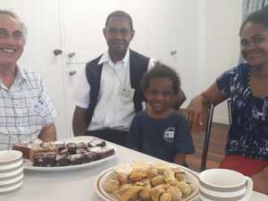 Solomon Islands visitors welcomed by church community