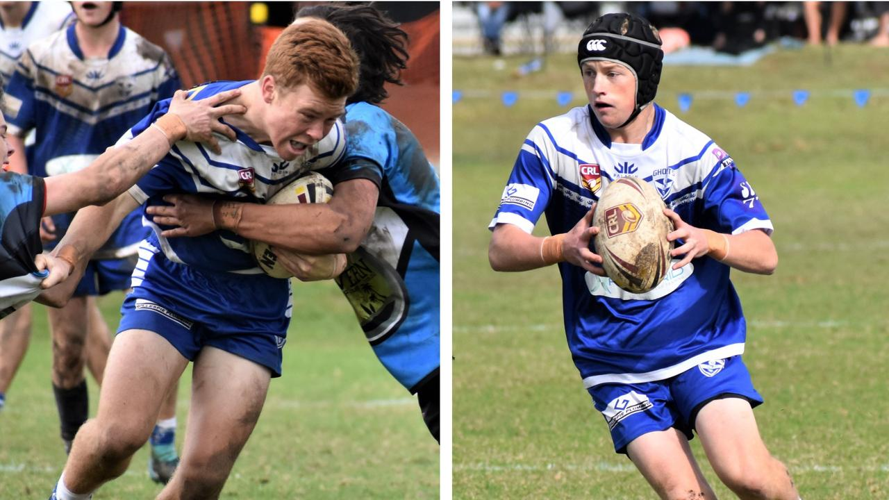 North Coast Bulldogs and Grafton Ghosts duo Hayden Ensbey and Elliot Speed kick off their Laurie Daley Cup campaign against the Central Coast Roosters in Tuncurry on Saturday.