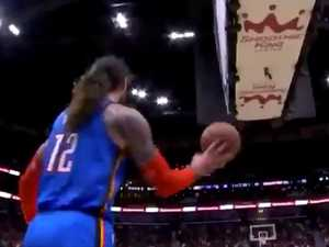 Kiwi star's absurd shot stuns NBA world
