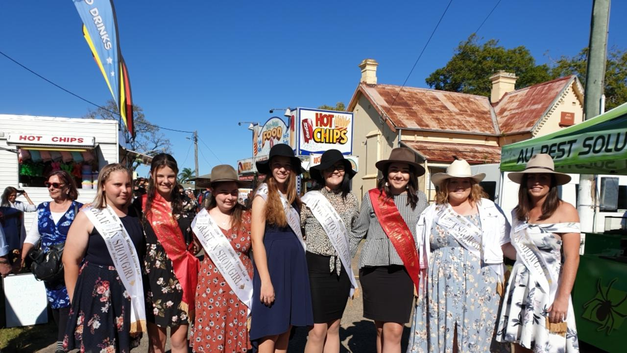 Grafton Showgirl contestants in 2019