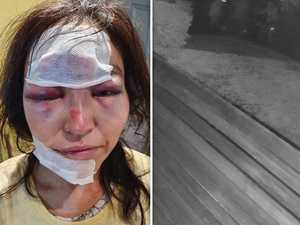Caught on CCTV: Woman attacked, robber on her way to work