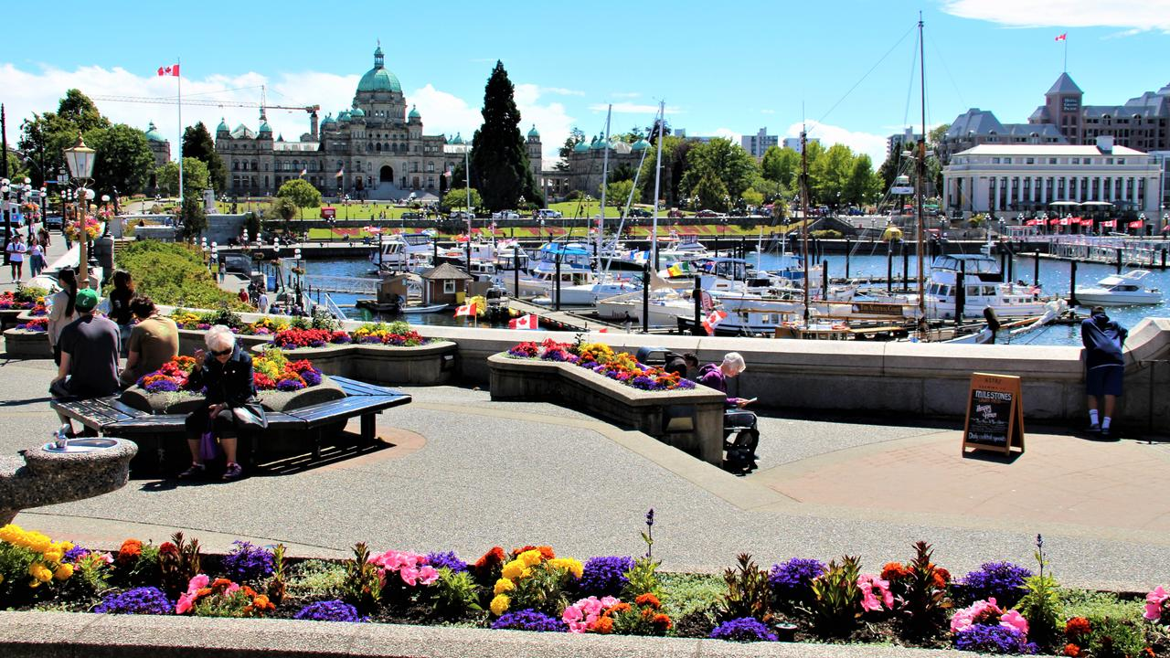Victoria's Inner Harbour. Picture: Shirley Sinclair