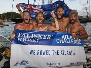 Why four blokes rowed a boat across the Atlantic ocean