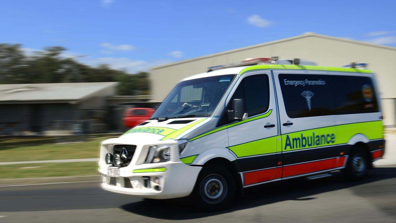 A female was transported to Bundaberg Hospital after a snake bite.
