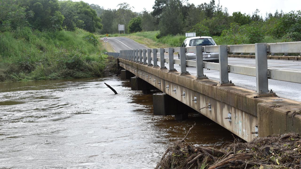 ROADS RE-OPEN: Roads are re-opening across Gympie region, including the still-damp Traveston Crossing bridge.