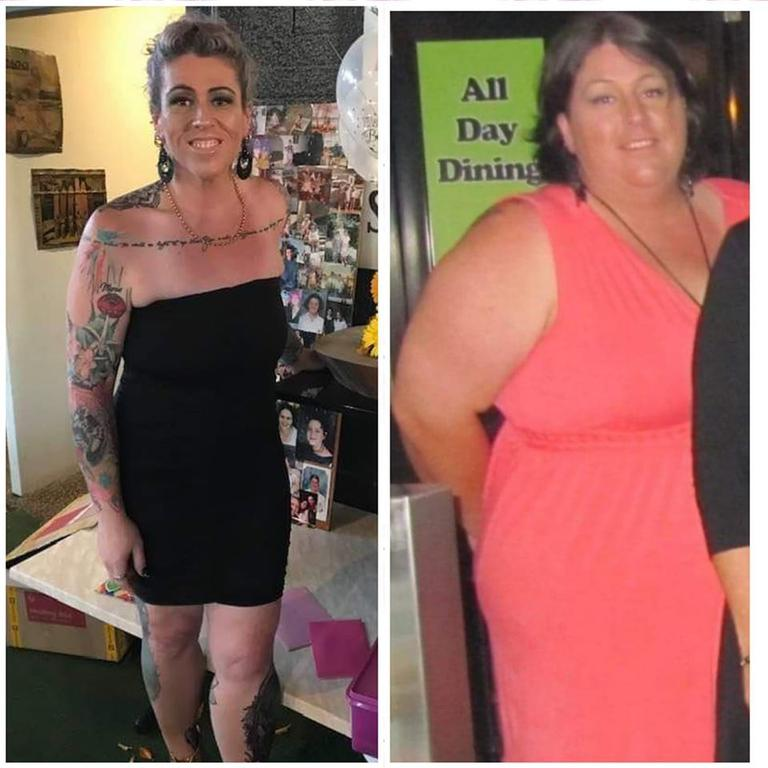 INSPIRING: Renee Verdel said she has never loved herself as much as she does now, after losing 80kg.