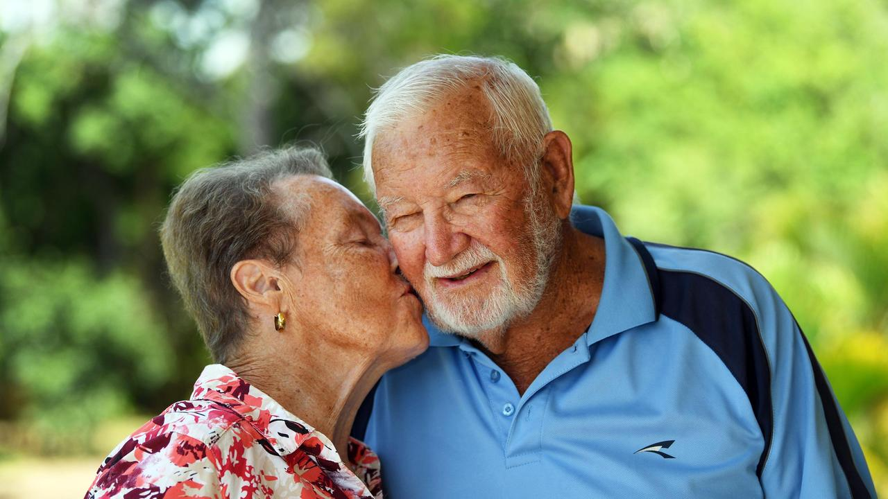 Valentines day - Janet and Noel Dickinson have spent the last 60 years together. Photo: Cody Fox