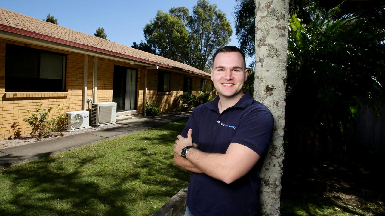 He favours cash flow positive properties in southeast Queensland. Picture: Steve Pohlner
