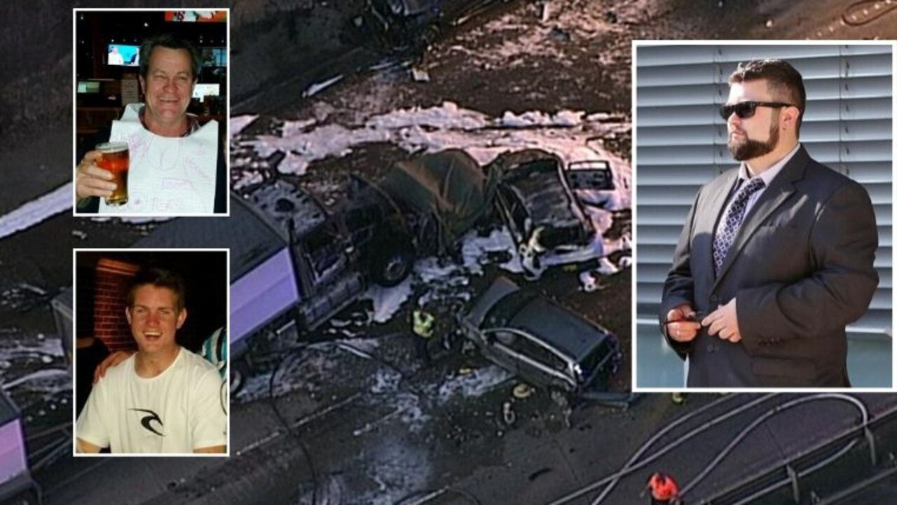 NSW truck driver jailed over crash that killed two people. Picture: Seven News