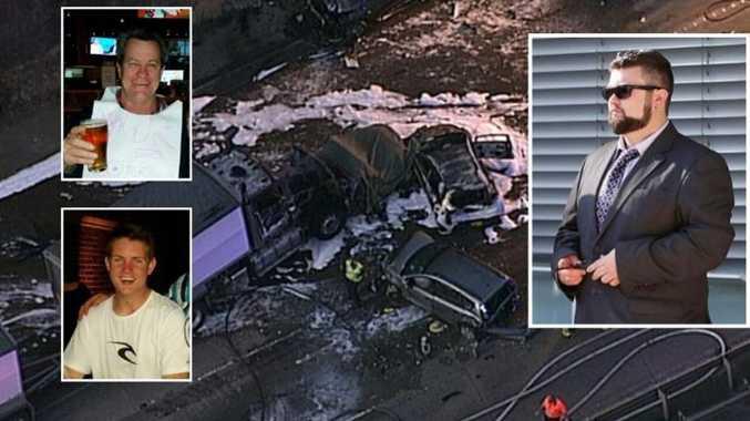Truckie jailed over fatal fireball crash