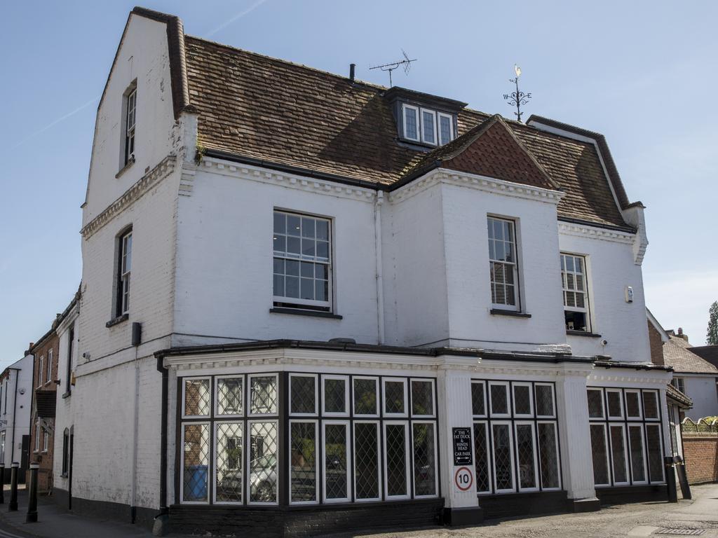 The Fat Duck restaurant in Bray. Picture: Ella Pellegrini