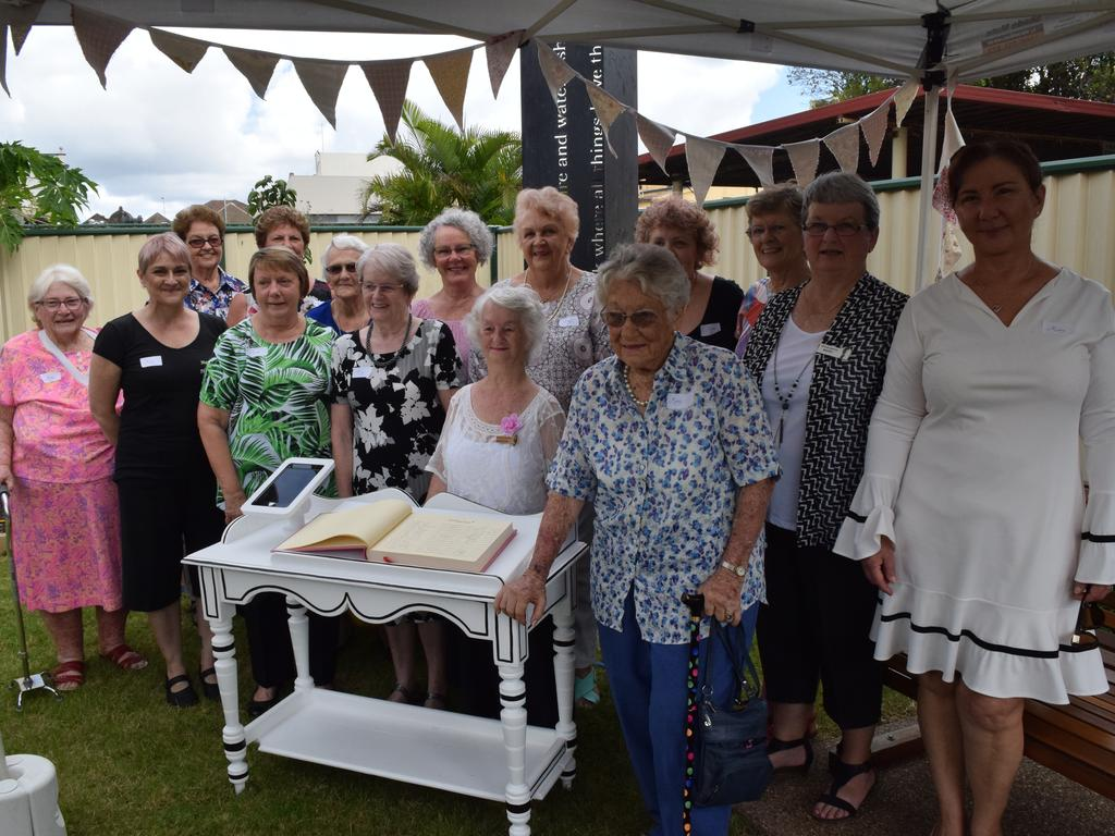Mary Register: The first 15 Mary Register signatories at the launch. Photo: Stuart Fast
