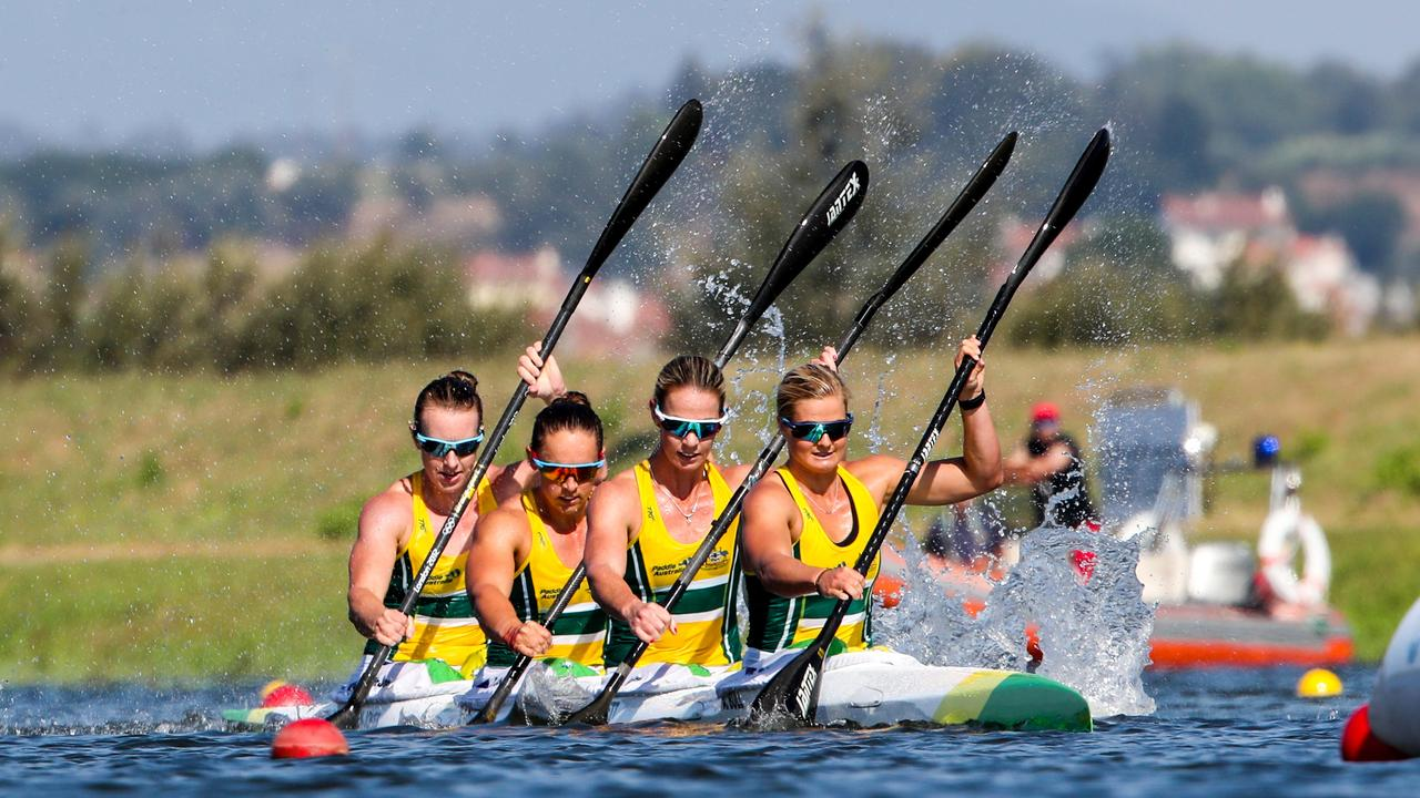 Alyssa Bull (front) is ready to attack the Oceania Championships this weekend. Photo: Zsuzsanna Vekassy