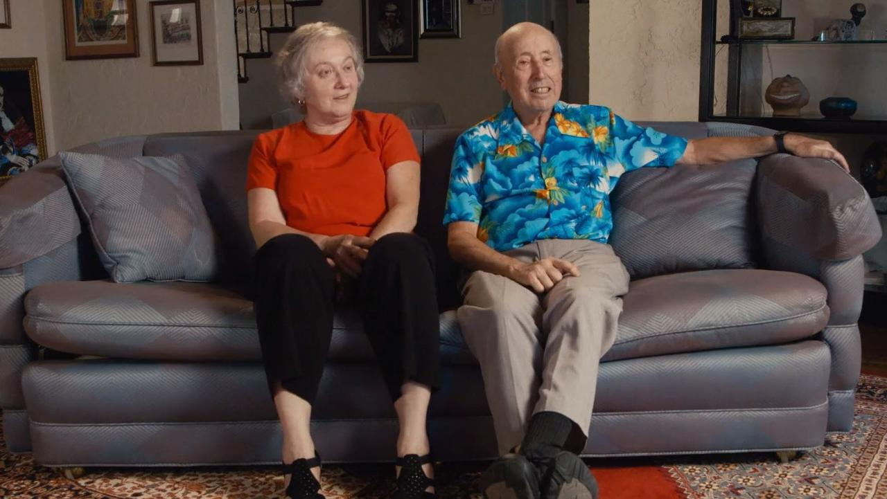 Karen and Barry Mason in their home. The couple somewhat reluctantly became the US' largest distributors of XXX gay porn.