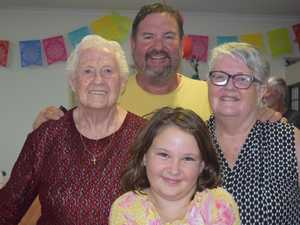 Surprise birthday party for 90-year-old Proserpine lady