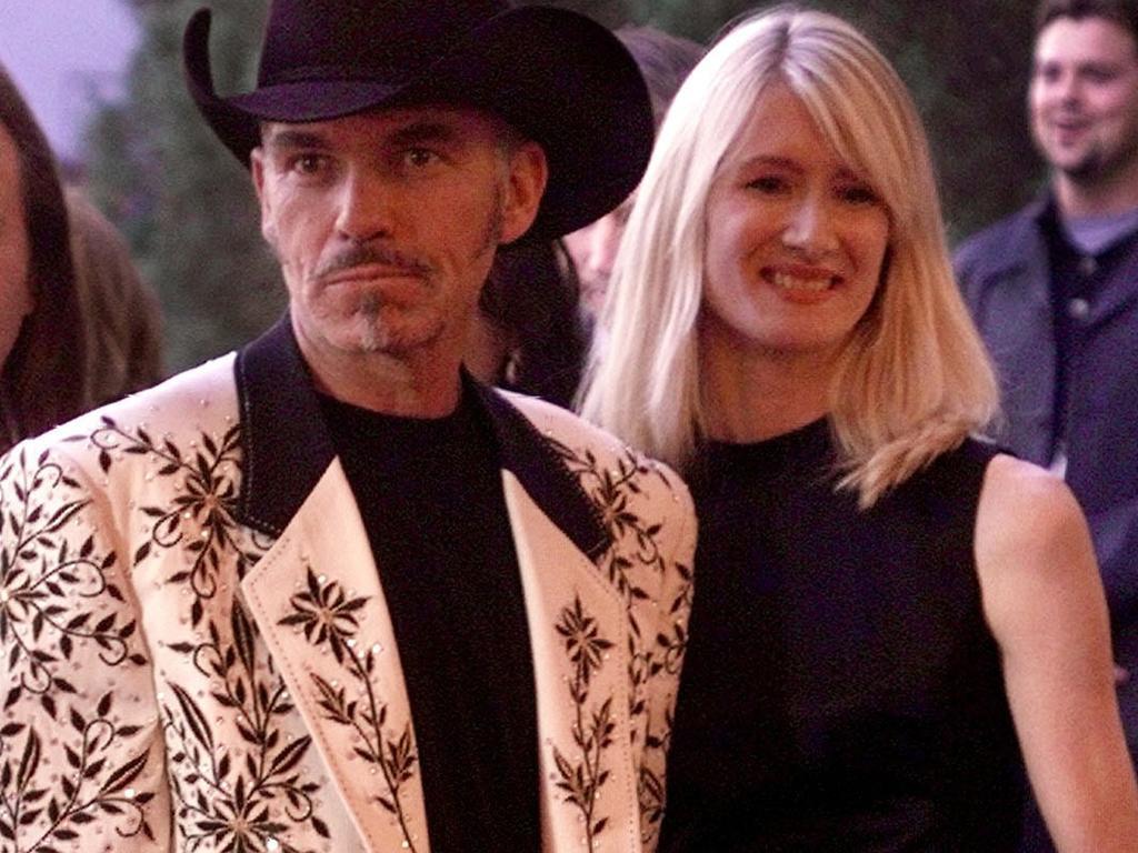 Billy Bob Thornton and Laura Dern in 1999.