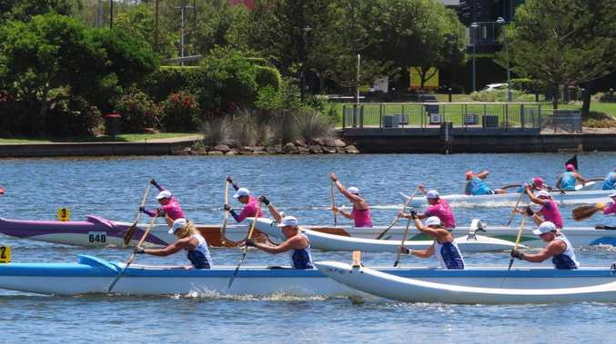 Noosa Outriggers' golden sprint efforts