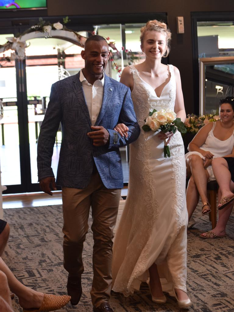 Future brides and grooms got the chance to see what they might look like on their wedding day during the fashion parade at the A Perfect Day wedding planning event in Ballina.
