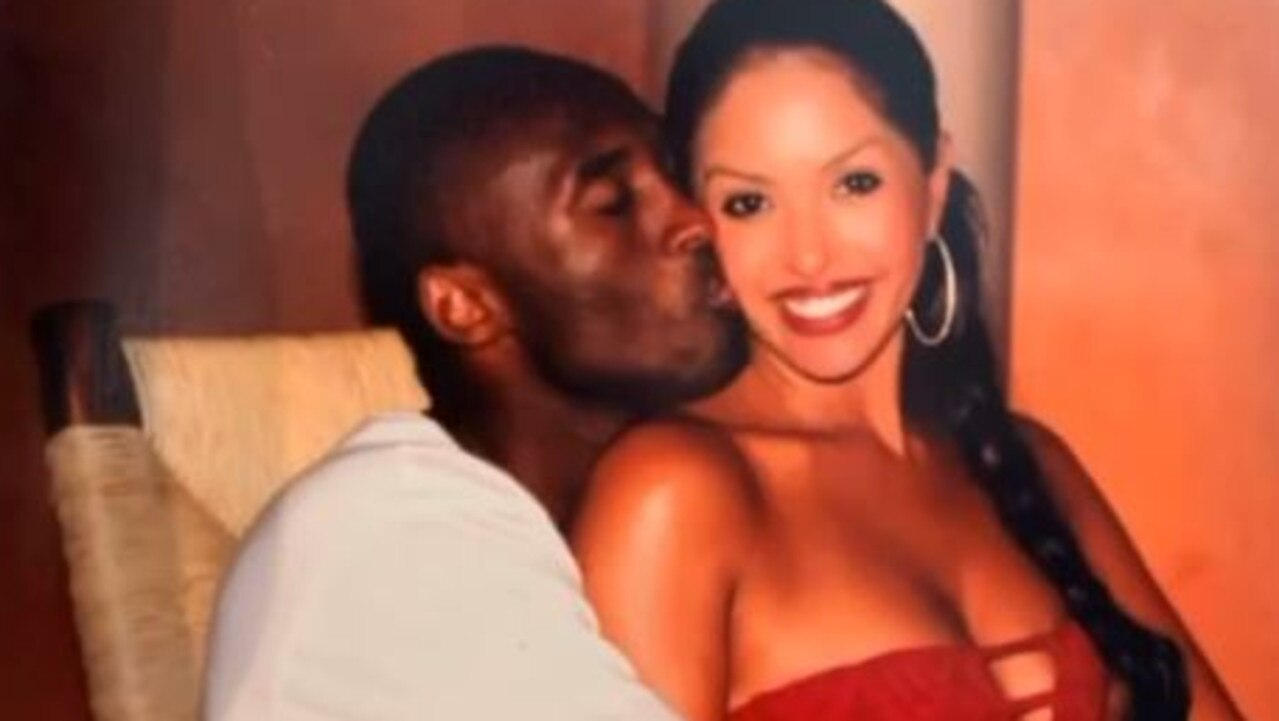 Vanessa Bryant has used Valentine's Day to again express love for her late husband.