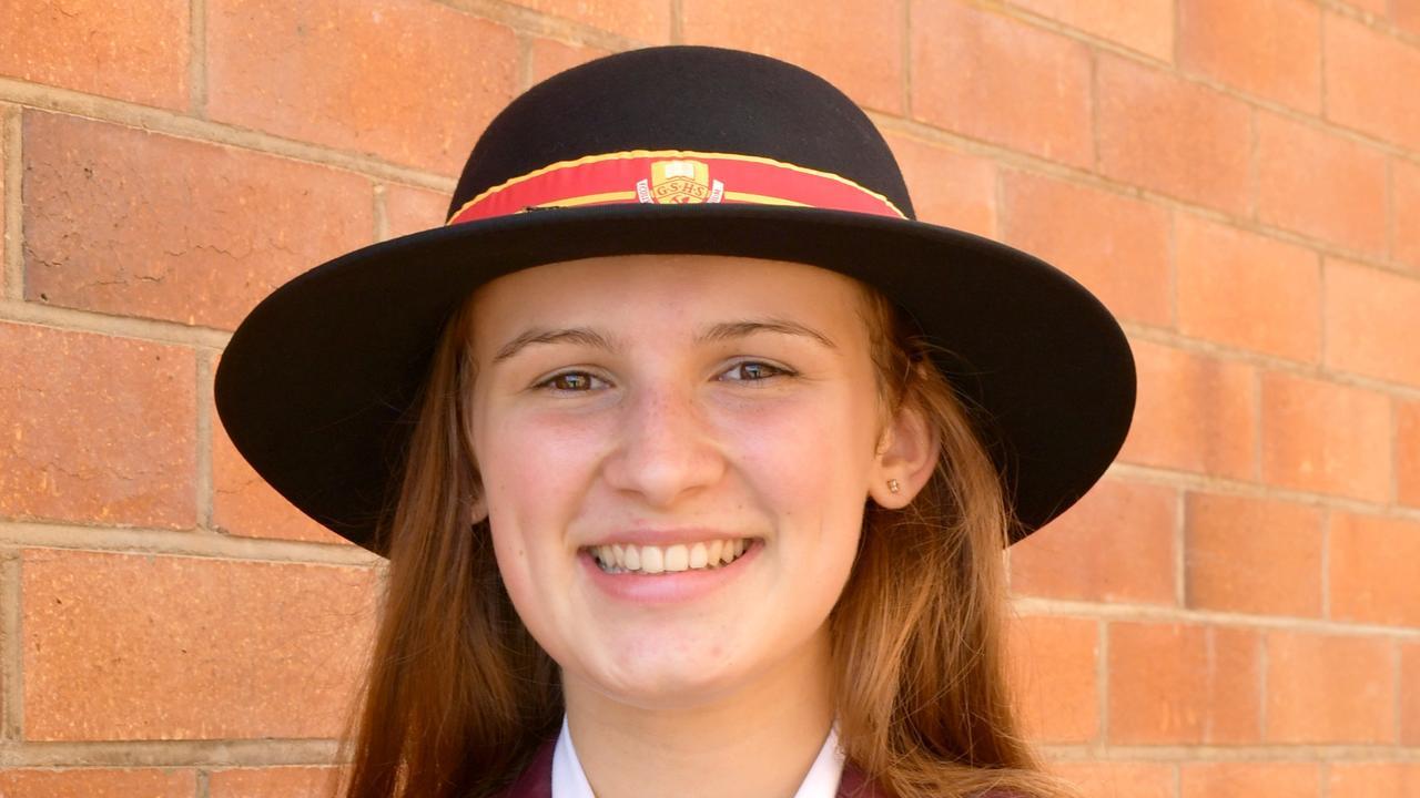 2019 OP1 Gympie student Amelia McDermott.