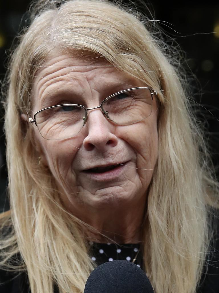 Matthew Leveson's mother Faye Leveson. Picture: David Swift