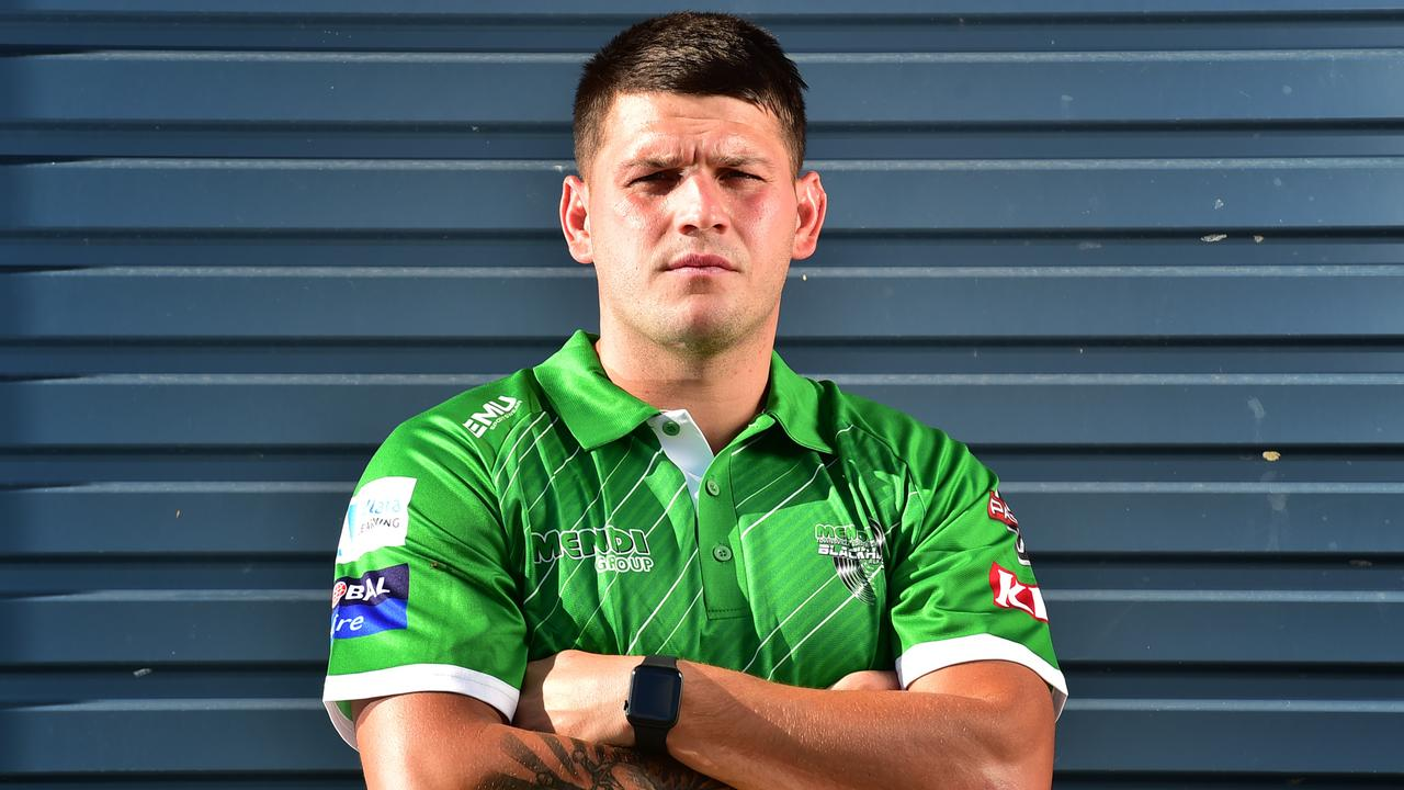 Townsville Blackhawks' Carlin Anderson ahead of the 2020 QRL Season. Picture: Alix Sweeney