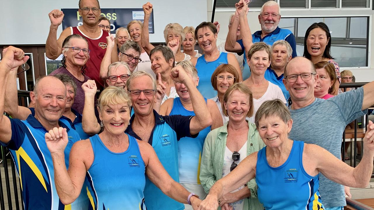 Noosa Masters Swimming Club's have won the national Vorgee 1000 Endurance competition for the seventh year in a row.