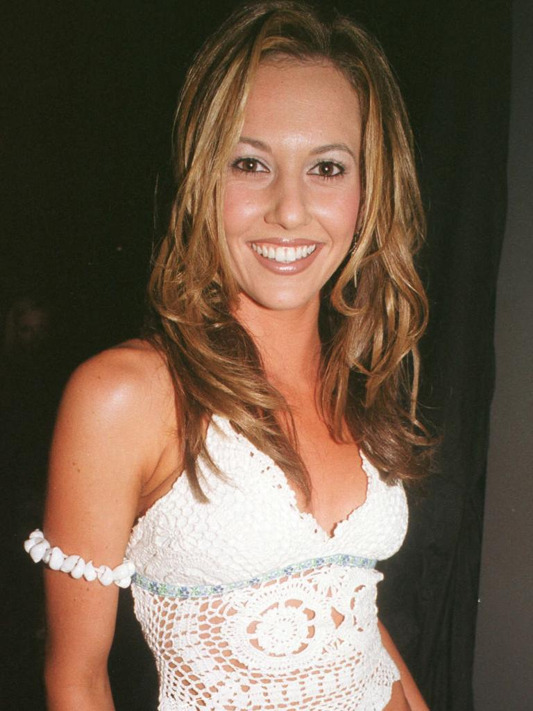 Kyly at a Noosa nightclub in 2002.