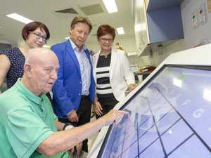 Robo therapy has Cooroy patients  in the pink