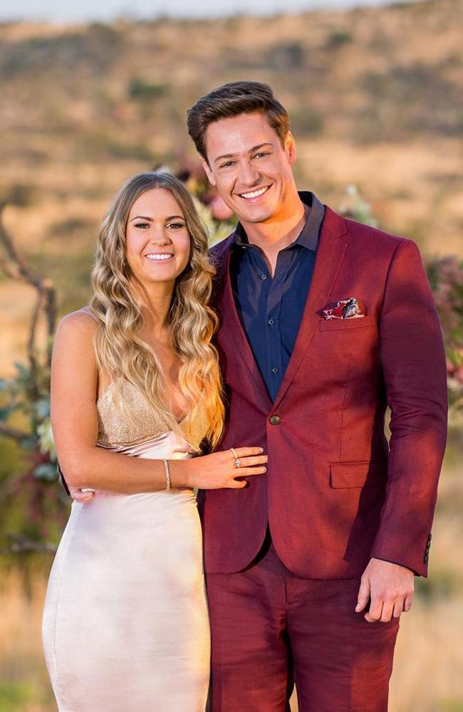 Matt Agnew and Chelsie McLeod ended up together at the end of the 2019 The Bachelor.